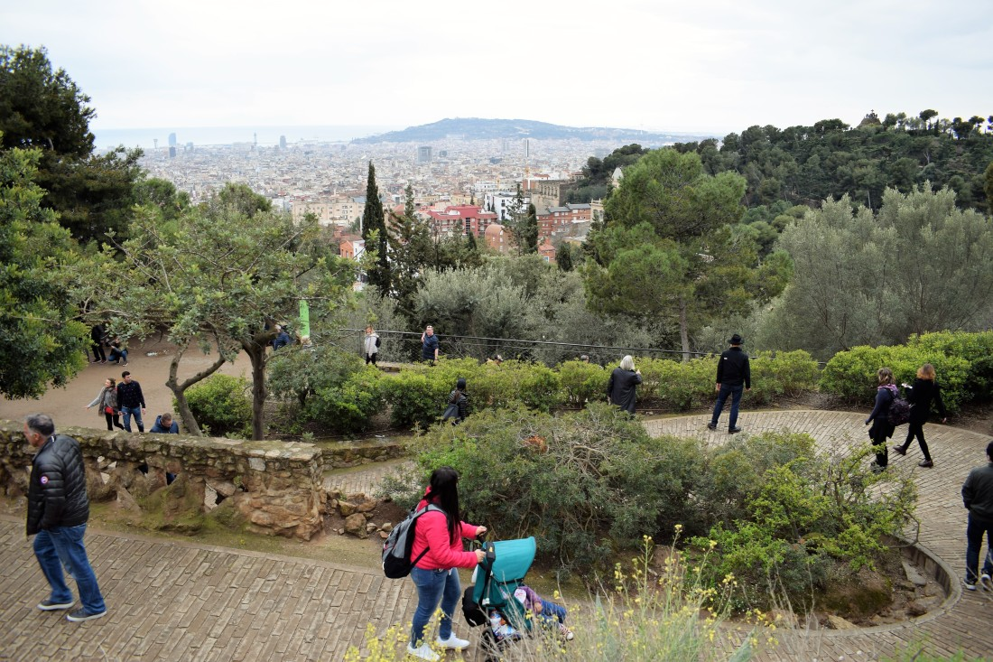 Park Guell entrance