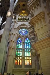Sagrada Familia 1 glass window
